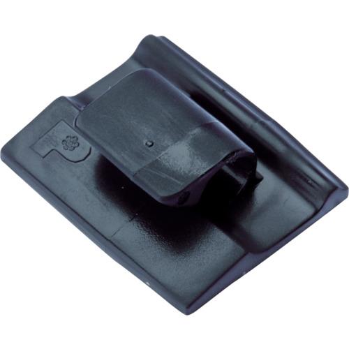 【セール期間中ポイント2~5倍!】パンドウイット 固定具 コードクリップ アクリル系粘着テープ付 耐候性黒 ACC62-AT-C0