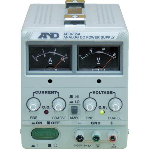 A&D(エー・アンド・ディ) 直流安定化電源 トラッキング動作可能 アナログ・メーター方式 AD8735A