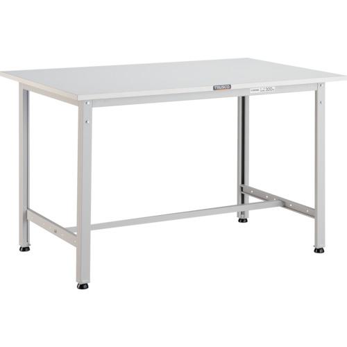 【直送】【代引不可】TRUSCO(トラスコ) AE型作業台 ポリ化粧天板 900X600X740 ホワイト AE-0960 W