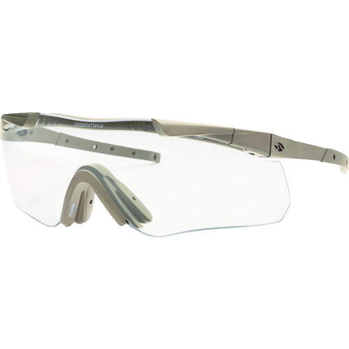 SMITHOPTICS 二眼型保護メガネ イージスエコー2超薄型弦・アンチフォグ加工 TAN AECHAT499152RA