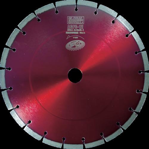 モトユキ ダイヤモンドカッター グローバルソー コンクリート用 φ255 AGFC-10