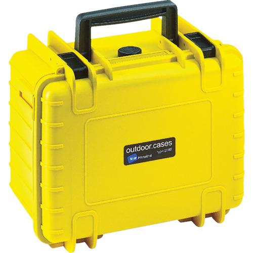 B&W プロテクタケース 1000 黄 フォームあり 10個 1000/Y/SI