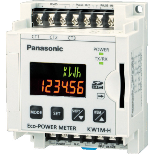 Panasonic(パナソニック) エコパワーメータ KW1M-H SDカード AKW1121B