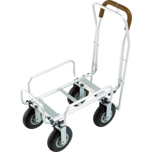 【直送】【代引不可】丸喜金属 アルミカート 100kg AL-CART