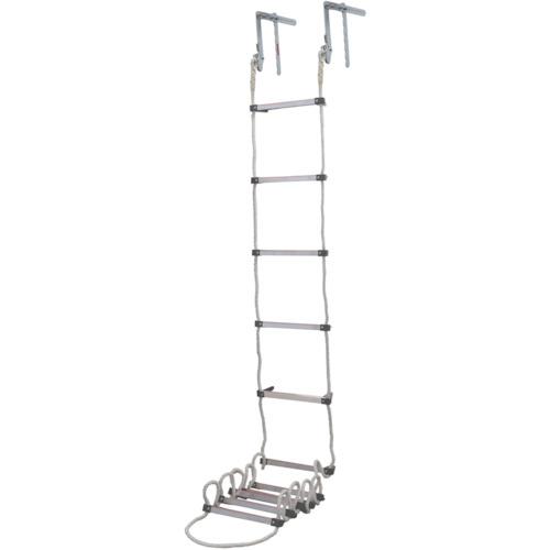 タイタン(サンコー) 避難用ロープはしご 窓枠用 3.9m AP-4