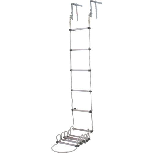 タイタン(サンコー) 避難用ロープはしご 窓枠用 5.9m AP-6
