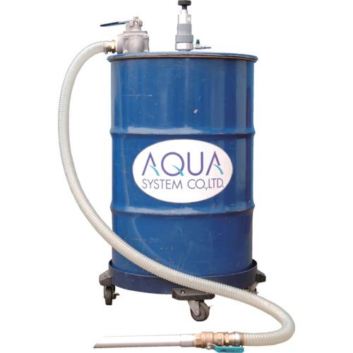 【直送】【代引不可】アクアシステム 吐出吸入兼用 エア式ドラム缶用ろ過クリーナー(SUSフィルタ) APDQO-FS