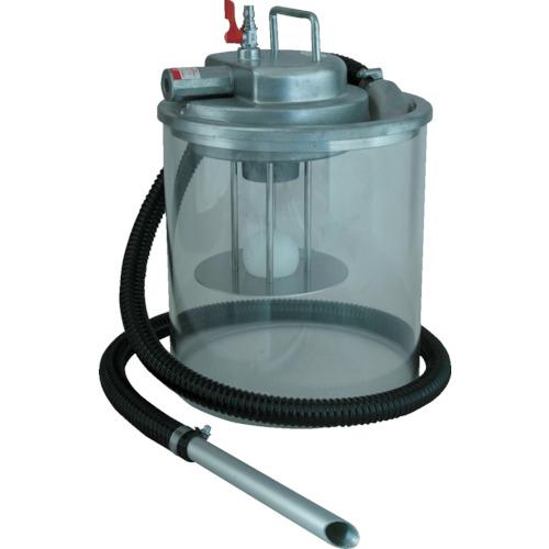 アクアシステム エアバキュームクリーナー ペール缶吸入専用 乾湿両用 APPQO400G