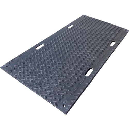 【直送】【代引不可】アラオ 樹脂製敷板 BAN BAN 3×6 片面リブ AR-288