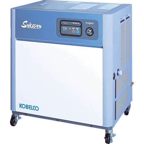 【直送】【代引不可】コベルコ 油冷式スクリューコンプレッサー AS2PD3-5