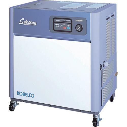 【直送】【代引不可】コベルコ 油冷式スクリューコンプレッサー AS3PD3-5
