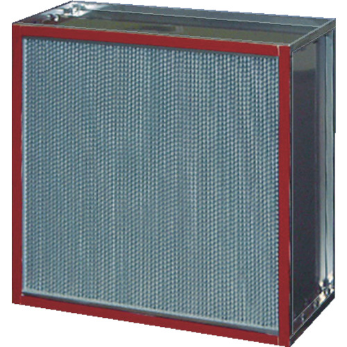 【直送】【代引不可】日本無機 耐熱180度中性能フィルタ 610X610X290mm ASTCE-56-60ES4