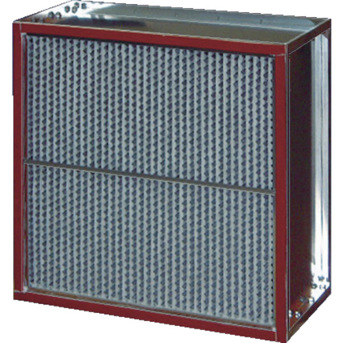 【直送】【代引不可】日本無機 耐熱180度中性能フィルタ 610X610X150mm ASTE-28-60ES4