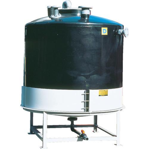 【直送】【代引不可】ダイライト AT型完全液出し密閉円筒型タンク 10000L AT-10000