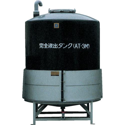 【直送】【代引不可】ダイライト AT型完全液出し密閉円筒型タンク 300L AT-300
