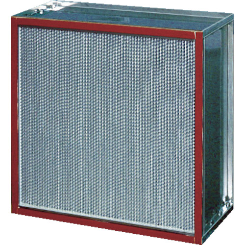 【直送】【代引不可】日本無機 耐熱180度HEPAフィルタ 610X610X150mm ATME-17-Q-ES4