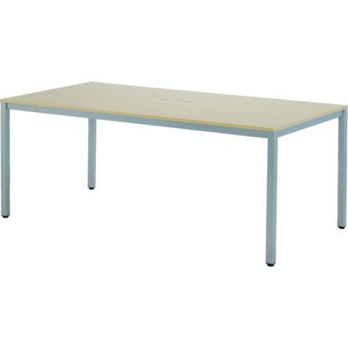 【直送】【代引不可】アールエフヤマカワ OAミーティングテーブル W1800xD900 ATN-1890NTL