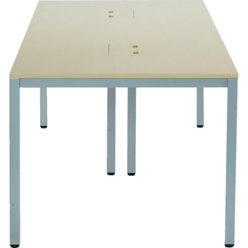 【直送】【代引不可】アールエフヤマカワ OAミーティングテーブル W2100xD900 ATN-2190N-AF2