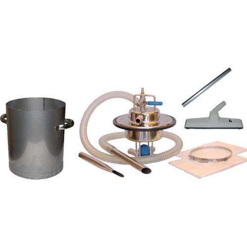 アクアシステム エア式乾湿両用ステンレス製掃除機セット(オープンペール缶専用) AVC-550SUS-SET