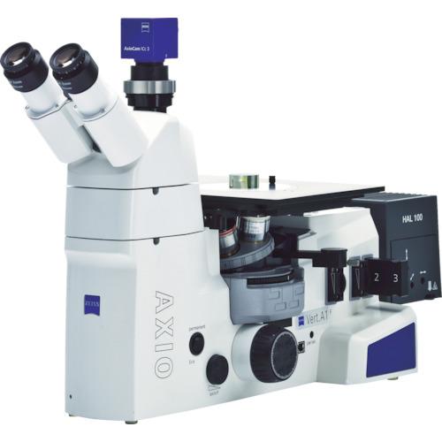 【直送】【代引不可】ZEISS(カールツァイス) LEDシステム倒立顕微鏡 Axio Vert.A1 MAT AXIOVERTA1-MAT