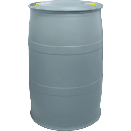 積水成型工業 ポリドラム SPD200-3 200L グレー B3220005
