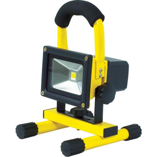 日動工業 充電式LEDライトチャージライトミニ 900ルーメン BAT-10W-L1PS-Y