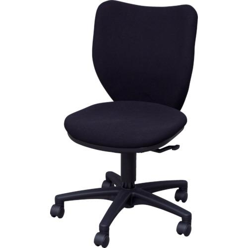 IRIS(アイリスチトセ) オフィスチェア ミドルバックタイプ ブラック BIT-BX45-L0-F-BKBK