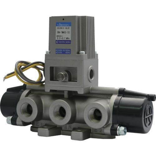 日本精器 4方向電磁弁10AAC100V7Mシリーズシングル BN-7M43-10-E100