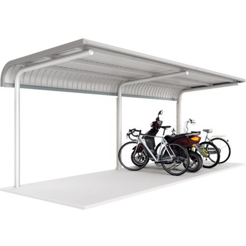 【直送】【代引不可】イナバ(稲葉製作所) 自転車置場 BPタイプ プレート式 2連続型 BP24PL2