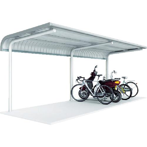 【直送】【代引不可】イナバ(稲葉製作所) 自転車置場 BPタイプ 埋め込み式 2連続型 BP24UL2