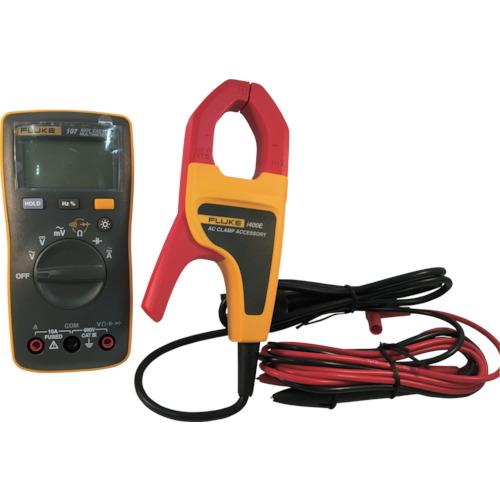 FLUKE(TFFフルーク) ポケットサイズ・マルチメーター107 i400E電流クランプ付キット 107/I400E