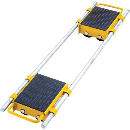 【直送】【代引不可】KAISERCRAFT(カイザークラフト) 調節可能 運搬用ローラードーリー 6t 116909