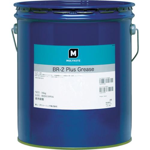 【直送】【代引不可】モリコート(東レ・ダウコーニング) 極圧グリース・汎用 BR2プラスグリース 16kg BR2-16