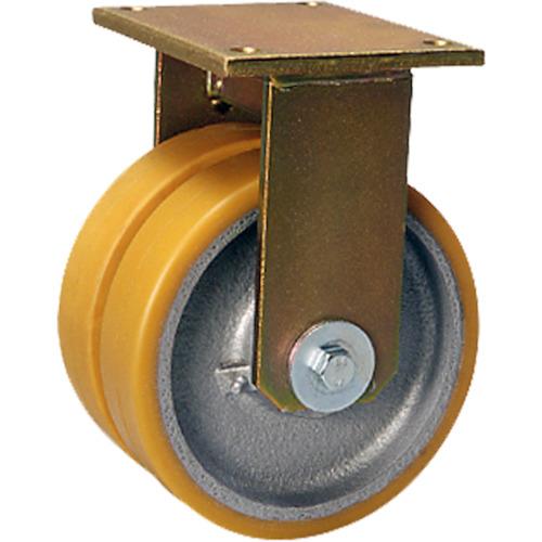 シシクSISIKUアドクライス 重荷重用キャスター 固定 200径 ウレタン車輪 BSD-GTH-200K-35