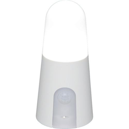 スーパーSALE期間中 全商品P2倍 3月5日10日はP5倍 直送 代引不可 IRIS 昼白色 スタンドタイプ 年中無休 正規品送料無料 乾電池式LED屋内センサーライト ホワイト BSL40SN-W アイリスオーヤマ