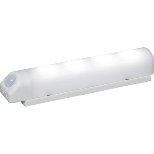 記念日 スーパーSALE期間中 全商品P2倍 今ダケ送料無料 3月5日10日はP5倍 直送 代引不可 IRIS BSL40WN-W 乾電池式LED屋内センサーライト ホワイト 昼白色 アイリスオーヤマ ウォールタイプ