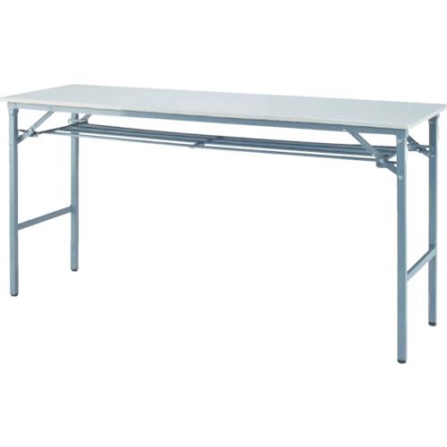 【直送】【代引不可】IRIS(アイリスチトセ) 折畳みテーブル 樹脂天板 1500X450 アイボリー BTS-1545-PP
