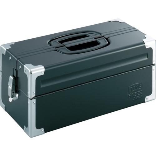 TONE(トネ) ツールケース(メタル) V形2段式 マットブラック BX322BK