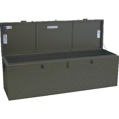 【直送】【代引不可】ALINCO(アルインコ) 万能アルミ製BOX ODグリーン色 1520X455X470 BXA150GR