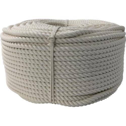 ユタカメイク ロープ 綿ロープ巻物 12φ×200m C12-200