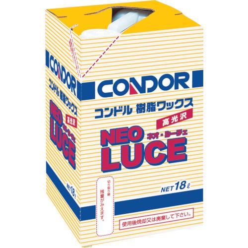 【直送】【代引不可】コンドル(山崎産業) 樹脂ワックス ネオルーチェ 18L C260-18LX-MB
