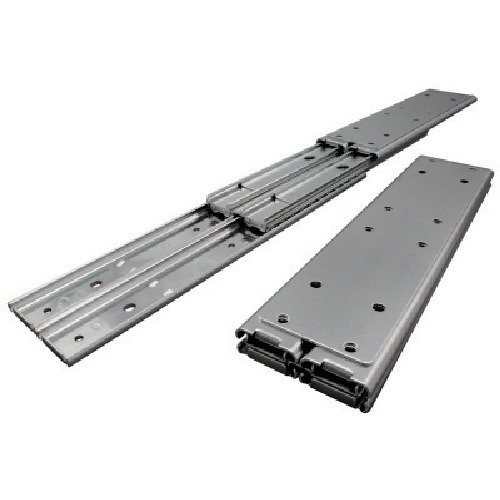 アキュライド ダブルスライドレール 重荷重用・ストップ 660.4mm C501-26