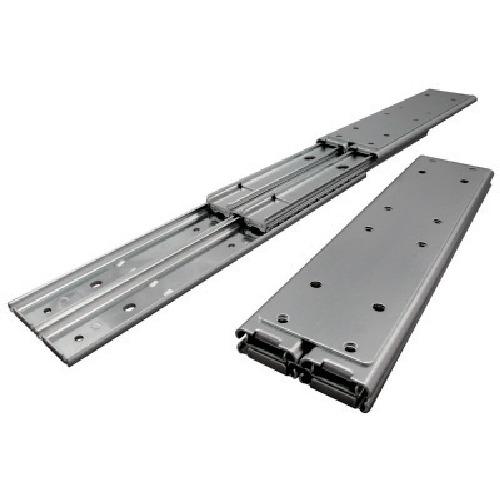 アキュライド ダブルスライドレール 重荷重用・ストップ 711.2mm C501-28