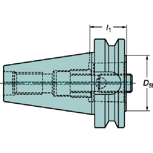 SANDVIK(サンドビック) コロマントキャプトアダプタ C6-390B.558-50 050
