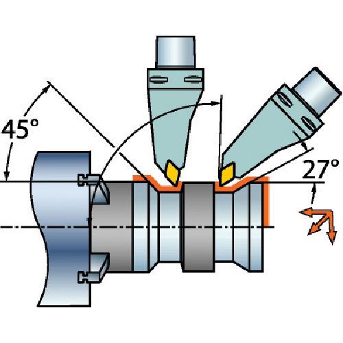 SANDVIK(サンドビック) コロマントキャプト コロターンRC用カッティングヘッド C6-DDMNL-00130-1504