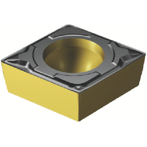 サンドビック コロターン107 旋削用ポジ・チップ 10個 CCMT 09 T3 08-PF 4325