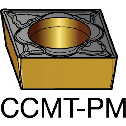 サンドビック コロターン107 旋削用ポジ・チップ 5015 10個 CCMT 12 04 08-PM 5015