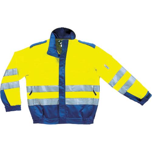 コーコス信岡 危険回避ウェア ブルゾン イエロー 3L CE-471011-3L