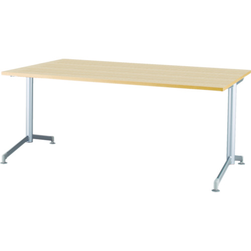 【直送】【代引不可】IRIS(アイリスチトセ) リフレッシュテーブル フーク T字脚 1200X750ナチュラル CFKTT1275G-NA
