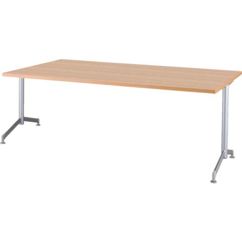 【直送】【代引不可】IRIS(アイリスチトセ) リフレッシュテーブル フーク T字脚 1500X750ナチュラル CFKTT1575G-NA